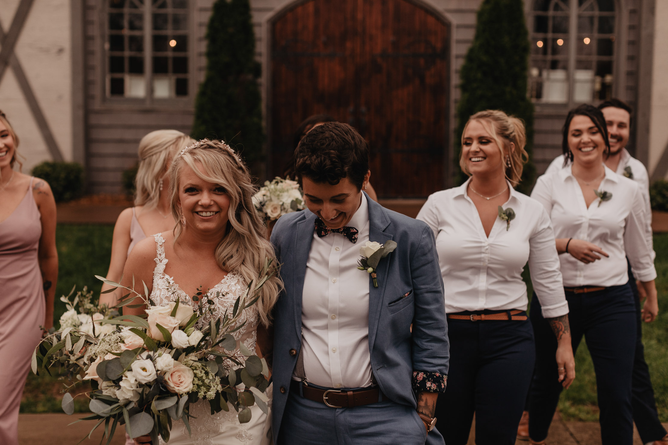 LGBT Wedding at The Belle Hollow | Magnolia and Ember