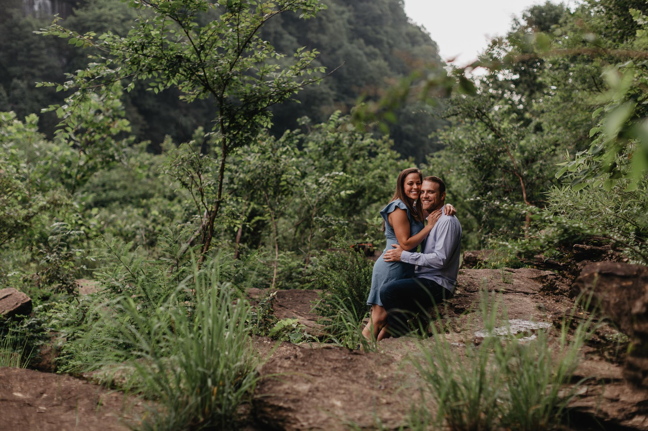 Rock Island State Park Engagement Session