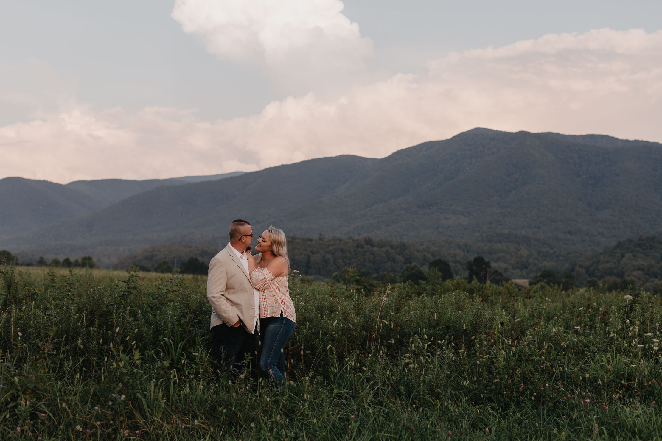 Cades Cove Engagement | Smoky Mountains Wedding Photographer