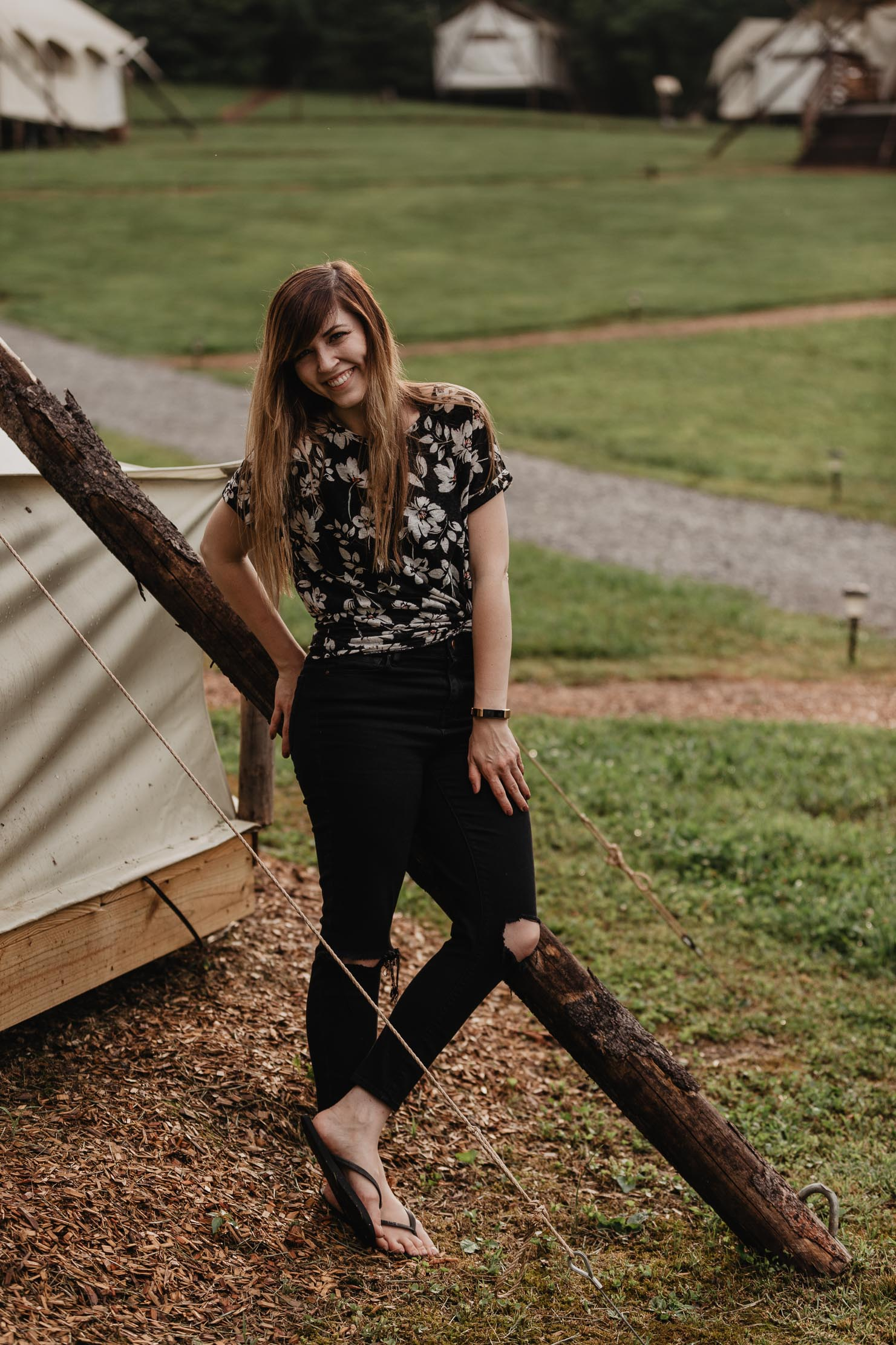 Branding Photography at Under Canvas Smoky Mountains