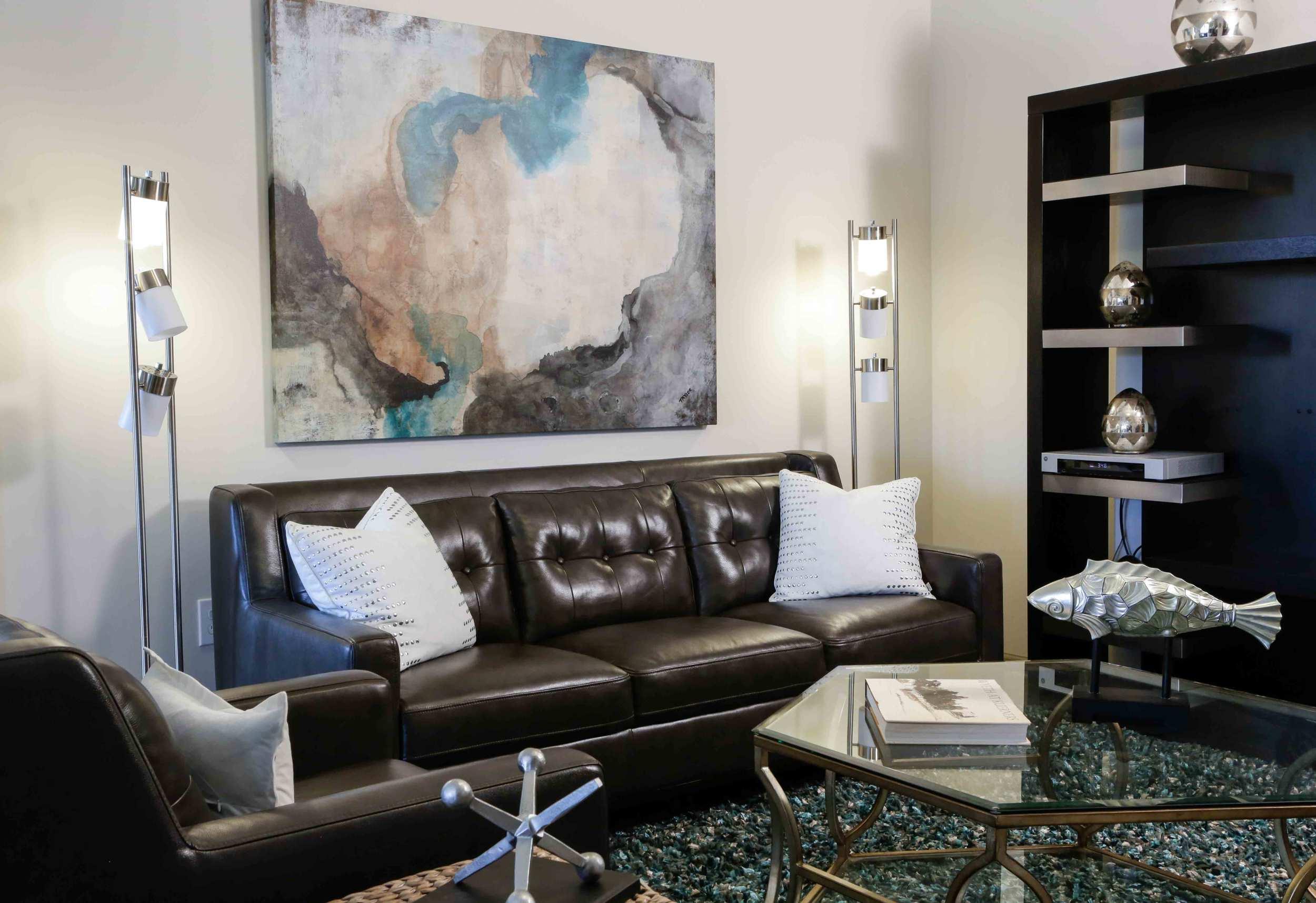 Lofts at Bass Living Room