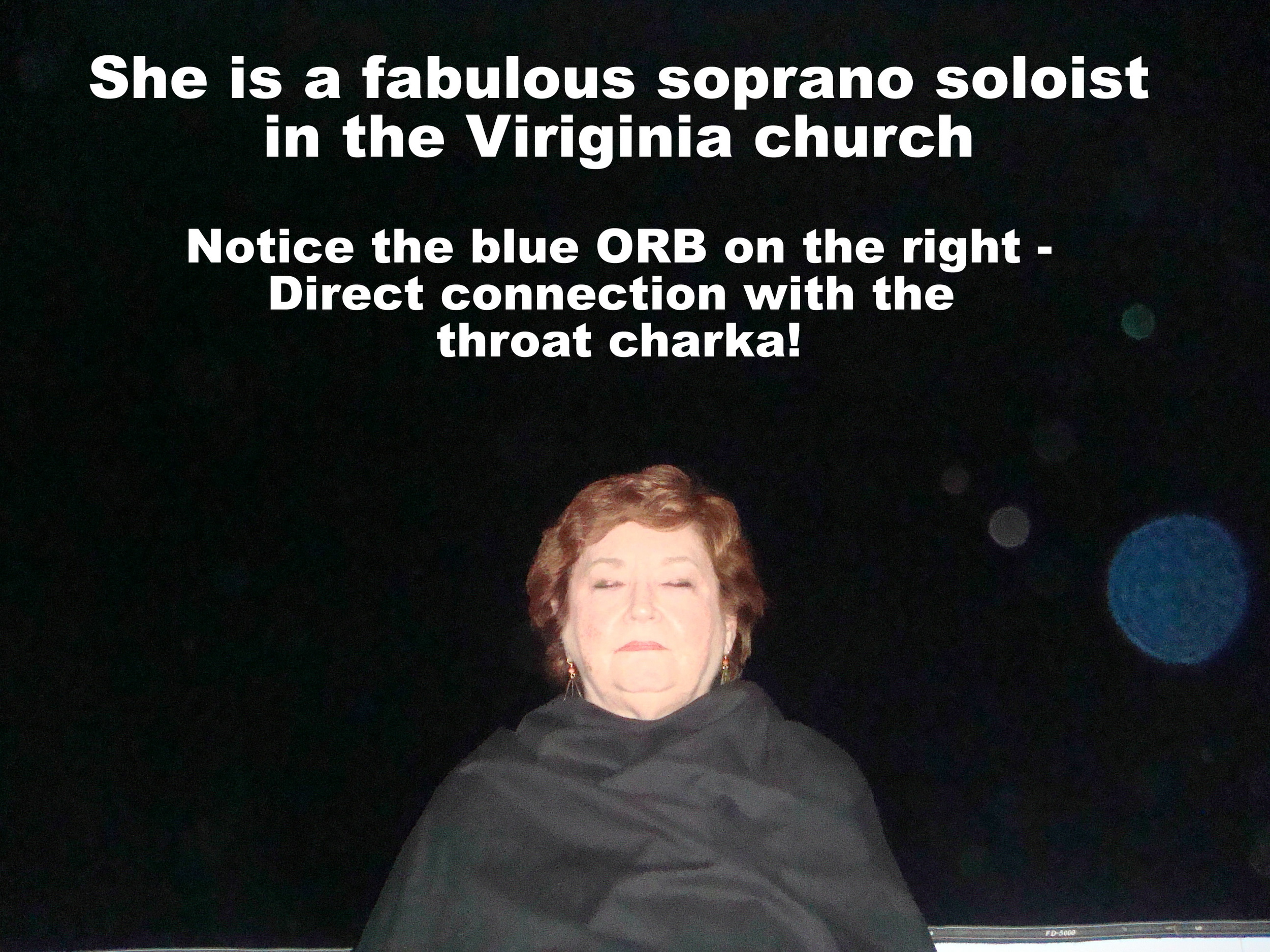 ORB Shown In Blue