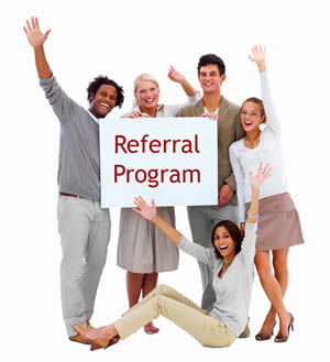 JOIN TODAY!  REFERRALS ARE REWARDED.