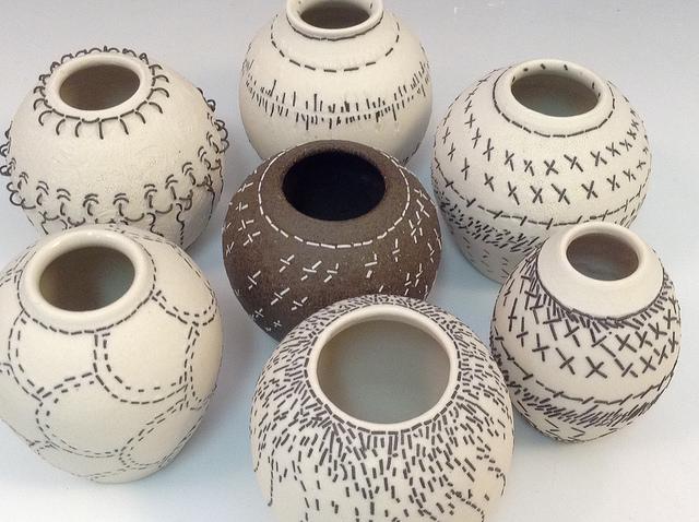 Accent vases in DECOR