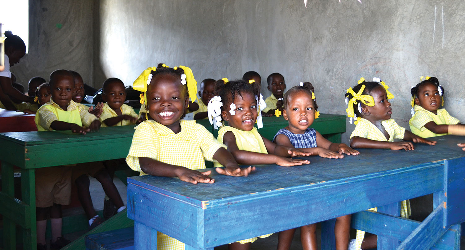 Here at New Missions, we believe in the God-given potential of each child in our classrooms.