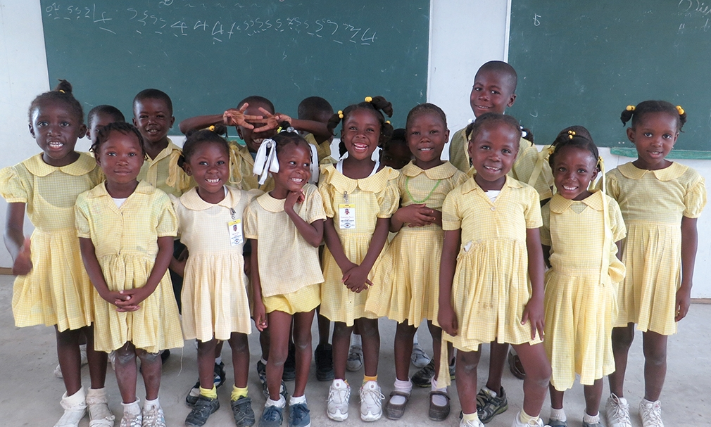 When a child steps out of poverty and into the classroom, they find love, dignity, and respect.