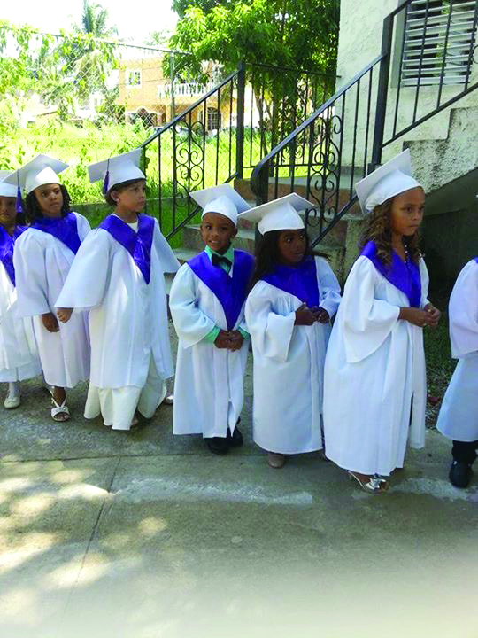 From Bombita, Dominican Republic, lives are being changed through Christian education.