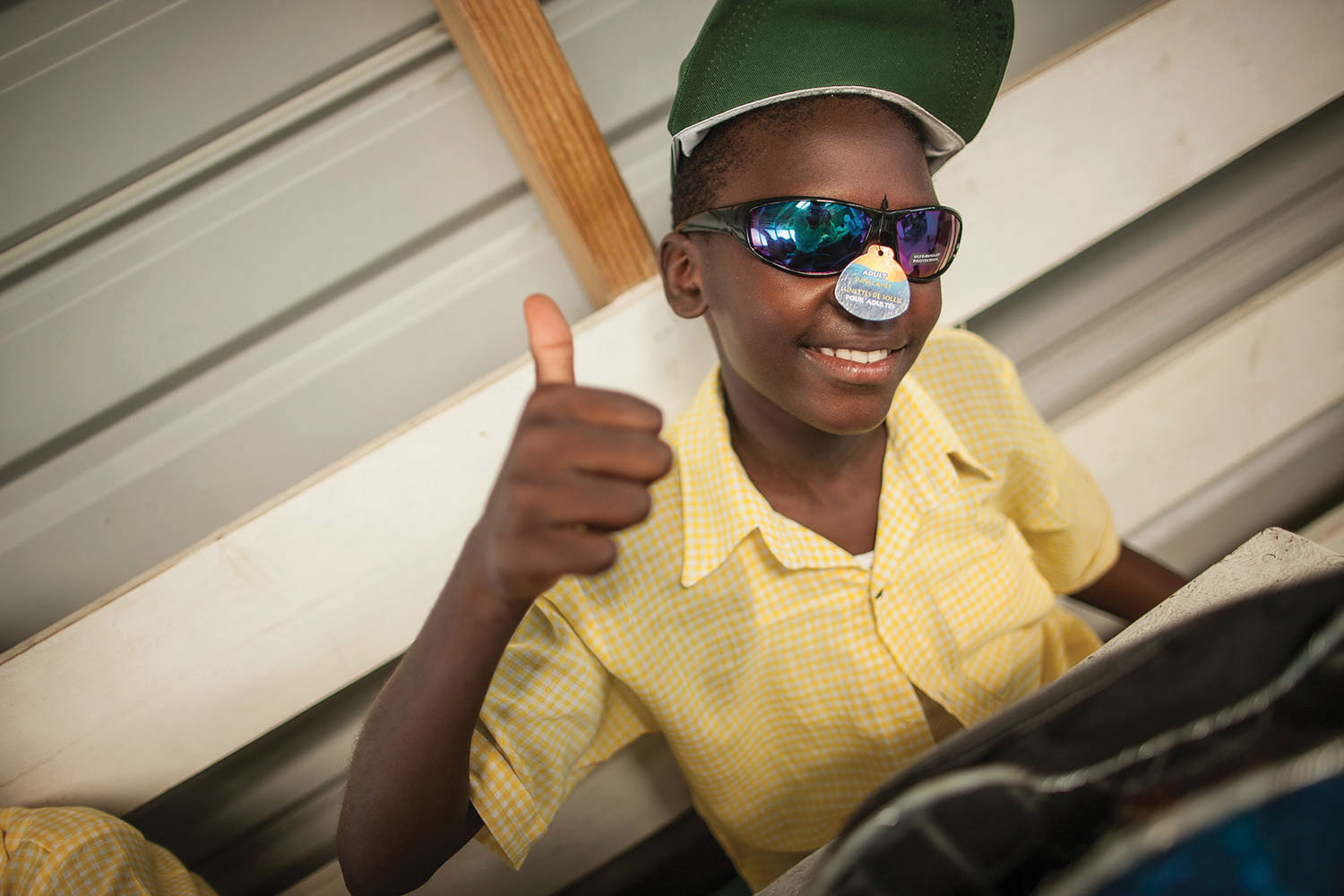 """""""We love because He first loved us."""" (1 John 4:19)  Thank you for packing shoeboxes for children in Haiti."""