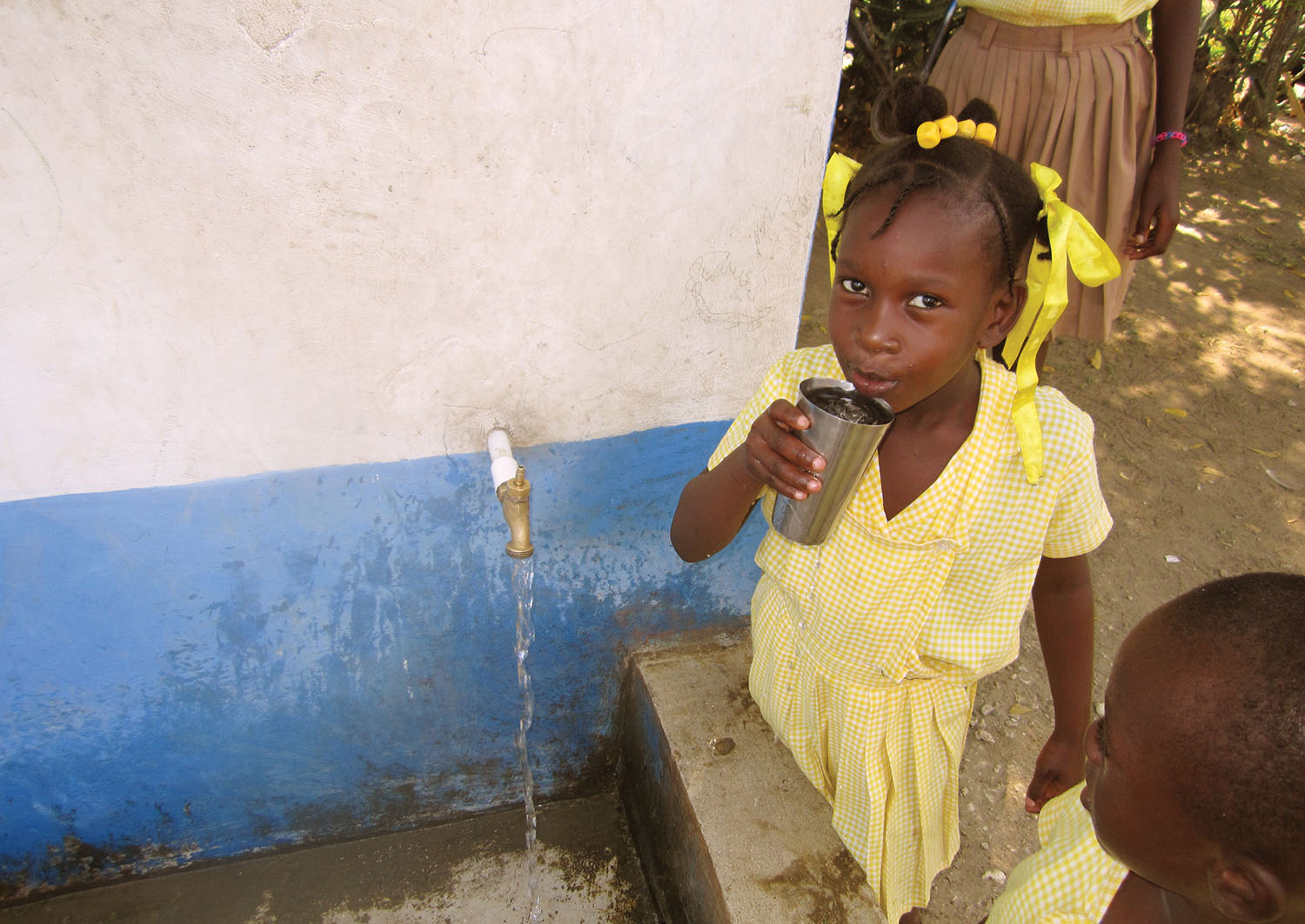 Every day water touches the life of each student at New Missions Christian Academy.