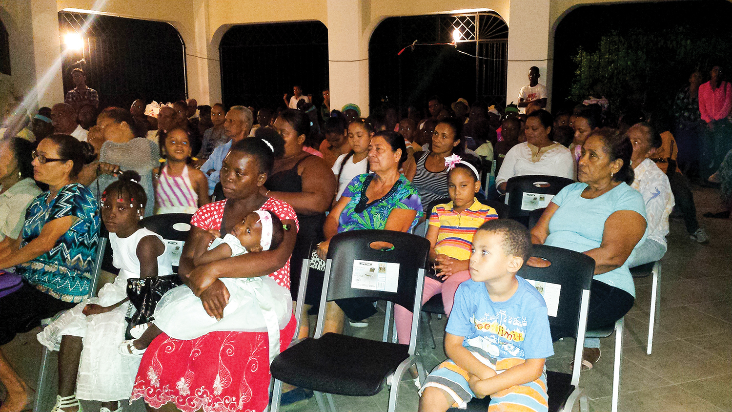 Because of your generosity, the new church in Los Castillos, Dominican Republic, is built.We rejoice in seeing families gather at our church in Los Castillos, because only God changes lives forever.