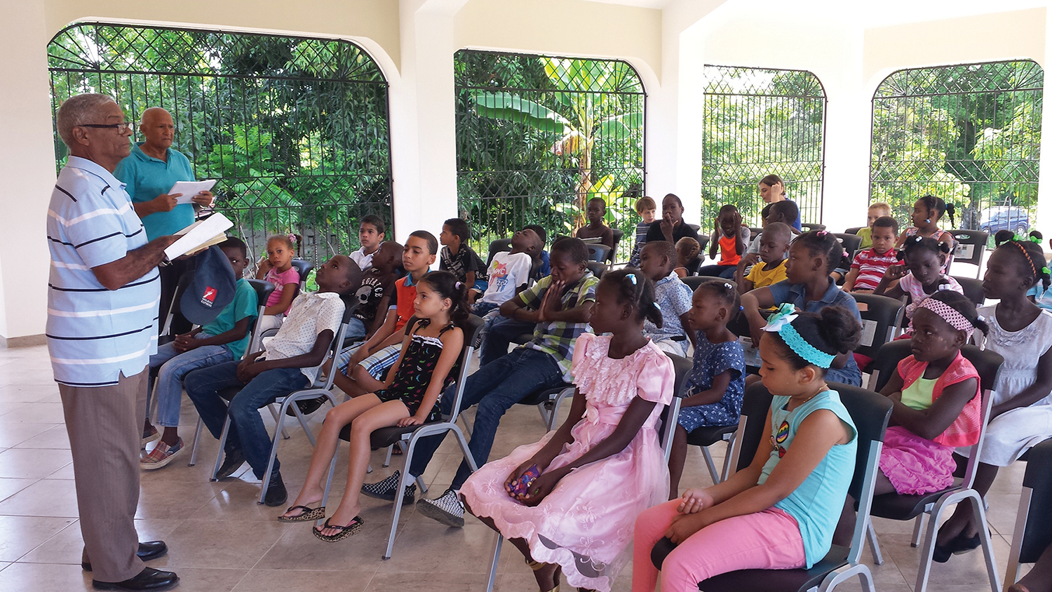 Sunday school is a special part of our ministry at each of our churches. The children attending are hearing God's Word.