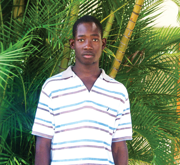 Because of the gift of sponsorship, Roland grew up and accepted Jesus at his school in Lassale.