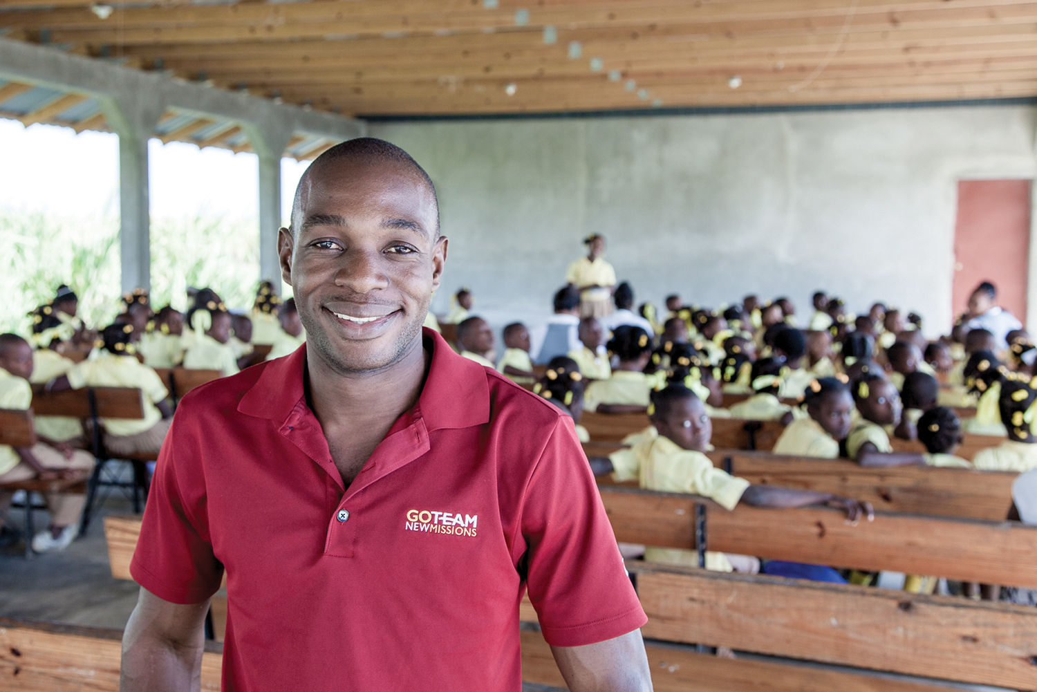 Yaguel Nerat, graduate from the class of 2005, is now the school director and pastor at New Missions Christian Academy in Neply, where he attended school.