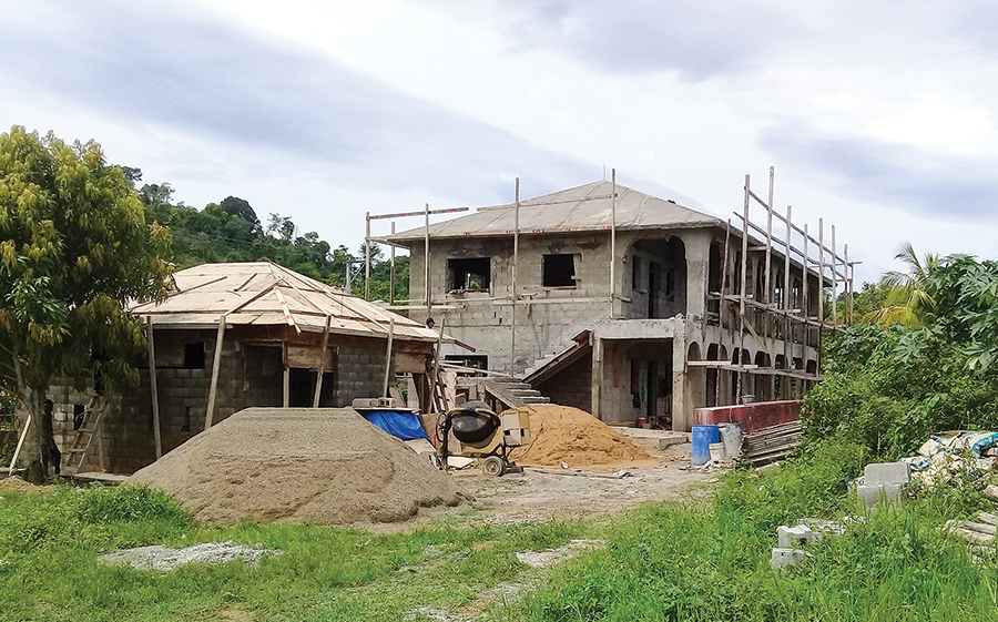 The school in Los Castillos is making great progress but still needs your support to complete the construction.The construction team is comprised entirely by Dominicans—providing local jobs.