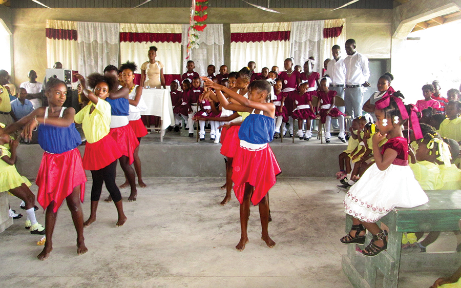 Celebrating with a party in Darbonne, our students reflect a new generation growing healthy and strong.