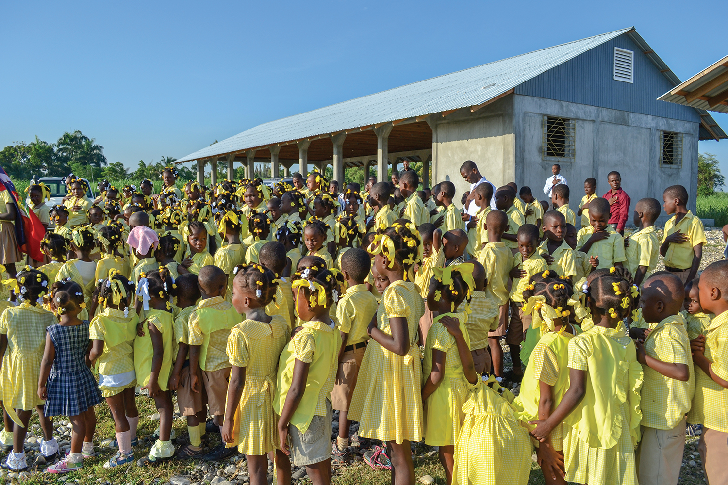 During the week, our churches serve as schools where education is the gift of empowerment to change lives.