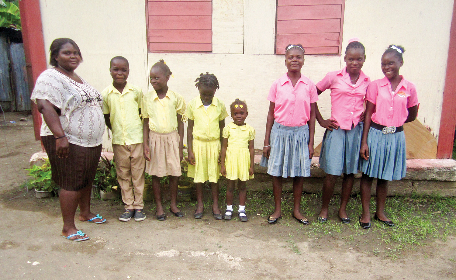 Fils Germane, a graduate from the class of 1992, now has her children attending our schools.