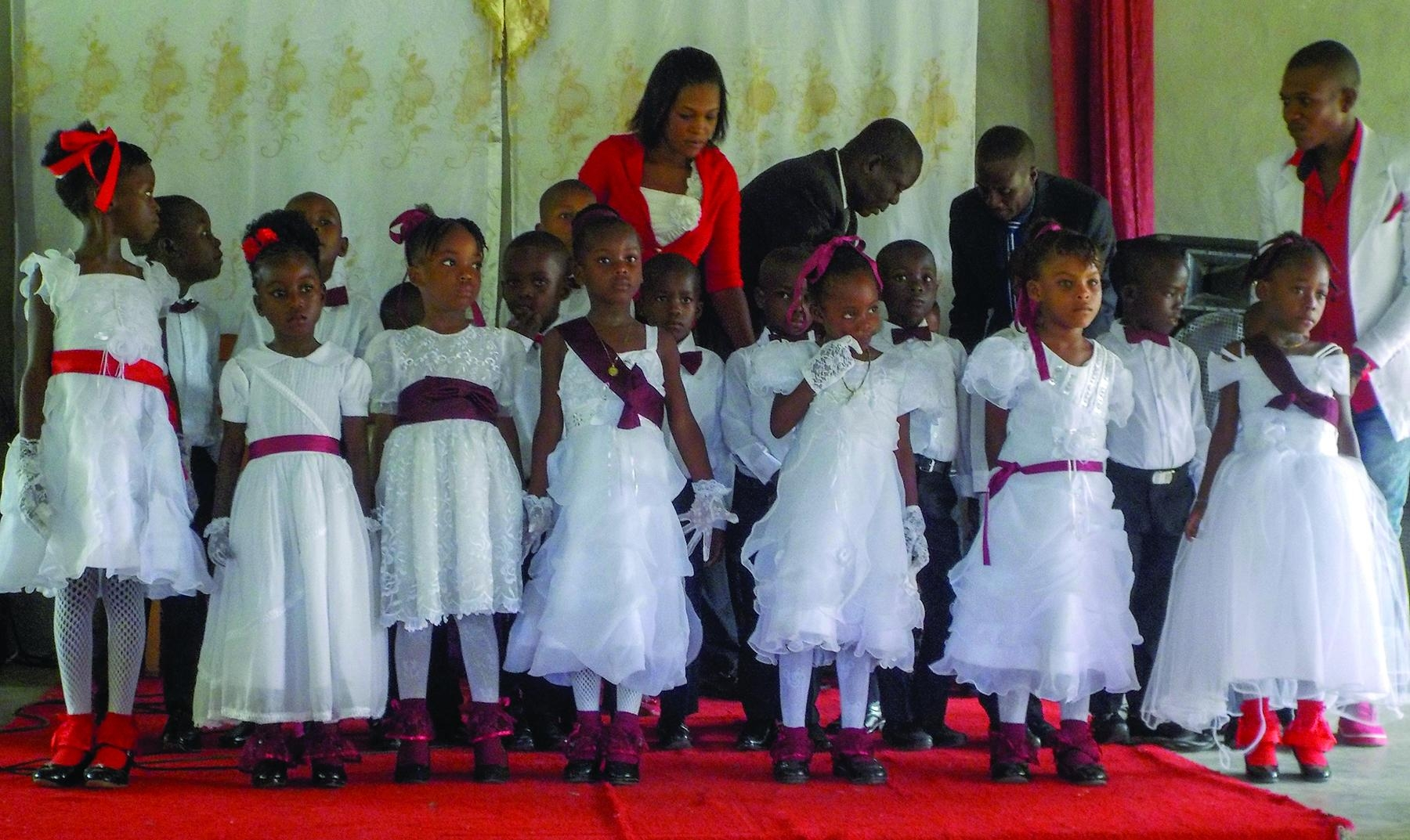 Kindergarten graduations are a special celebration as these children are loved by God and on the rise to be Christian leaders.