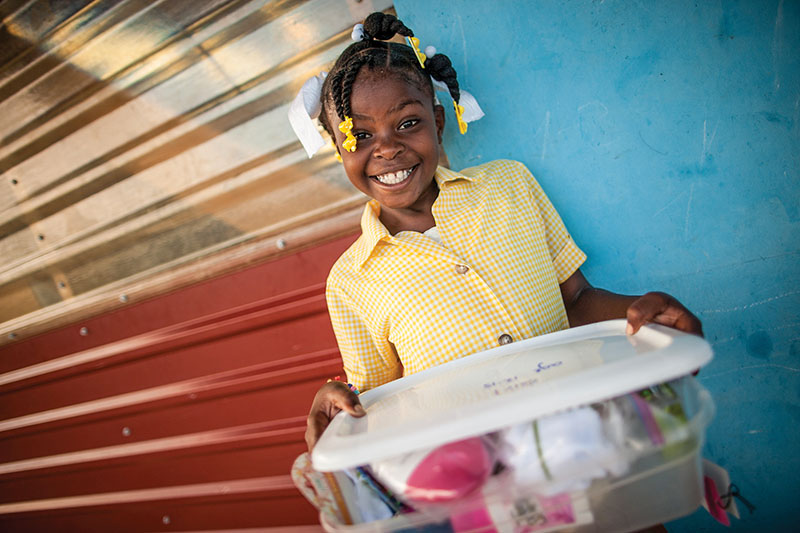 If you don't have time to pack a shoebox for your child, simply visit newmissions.org/shoeboxgiving and we can pack one for you.