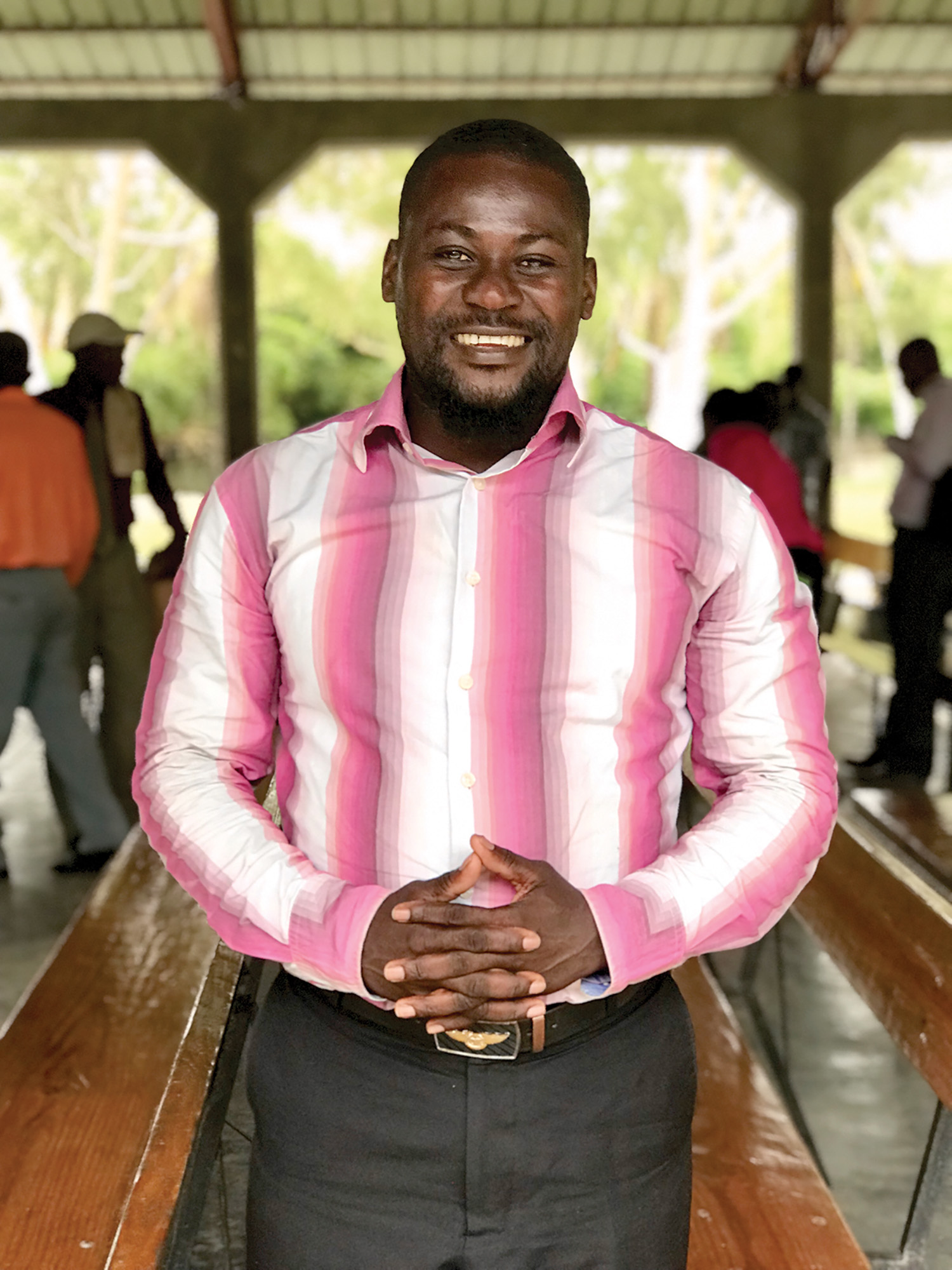 Remember Pastor Cyriaque Joseph Matin from our church and school in Fauche, Haiti, in your prayers and our other pastors, as well.