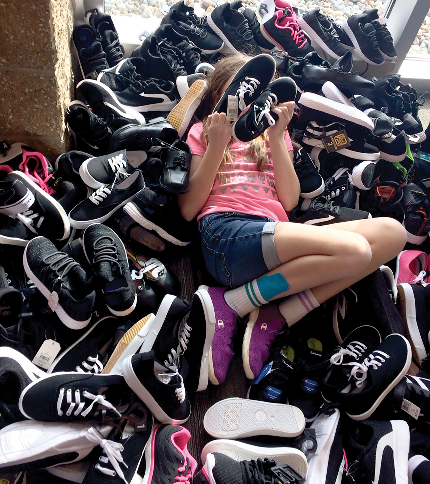 Congratulations to South Church in Lansing, Michigan, for collecting 628 pairs of sneakers.