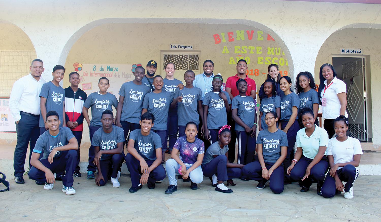 The Christian Student Leadership Team