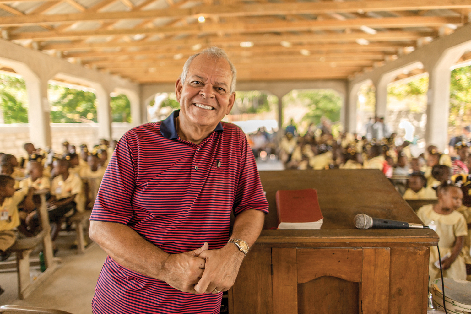Thank you Pastor Johnny Hunt from First Baptist Church Woodstock in helping to build two churches in Haiti: Tom Gateau and Decouze.