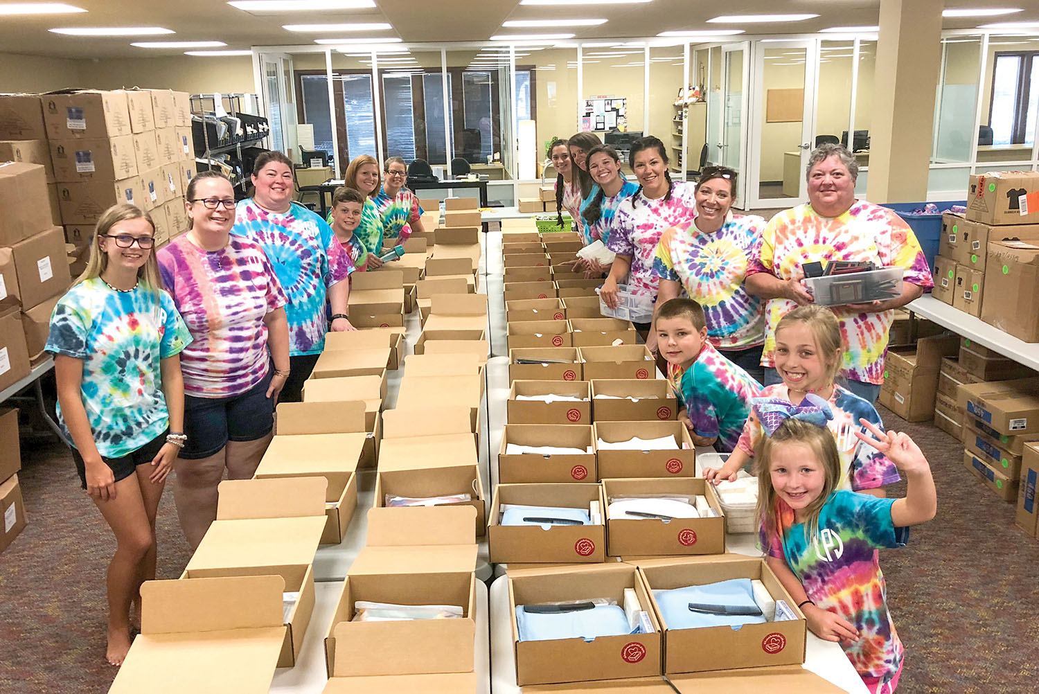 Thank you to the hundreds of volunteers who serve during our Shoebox Drive. Each shoebox counts, because each child matters. So plan now to host a packing party at your church, school, or office.