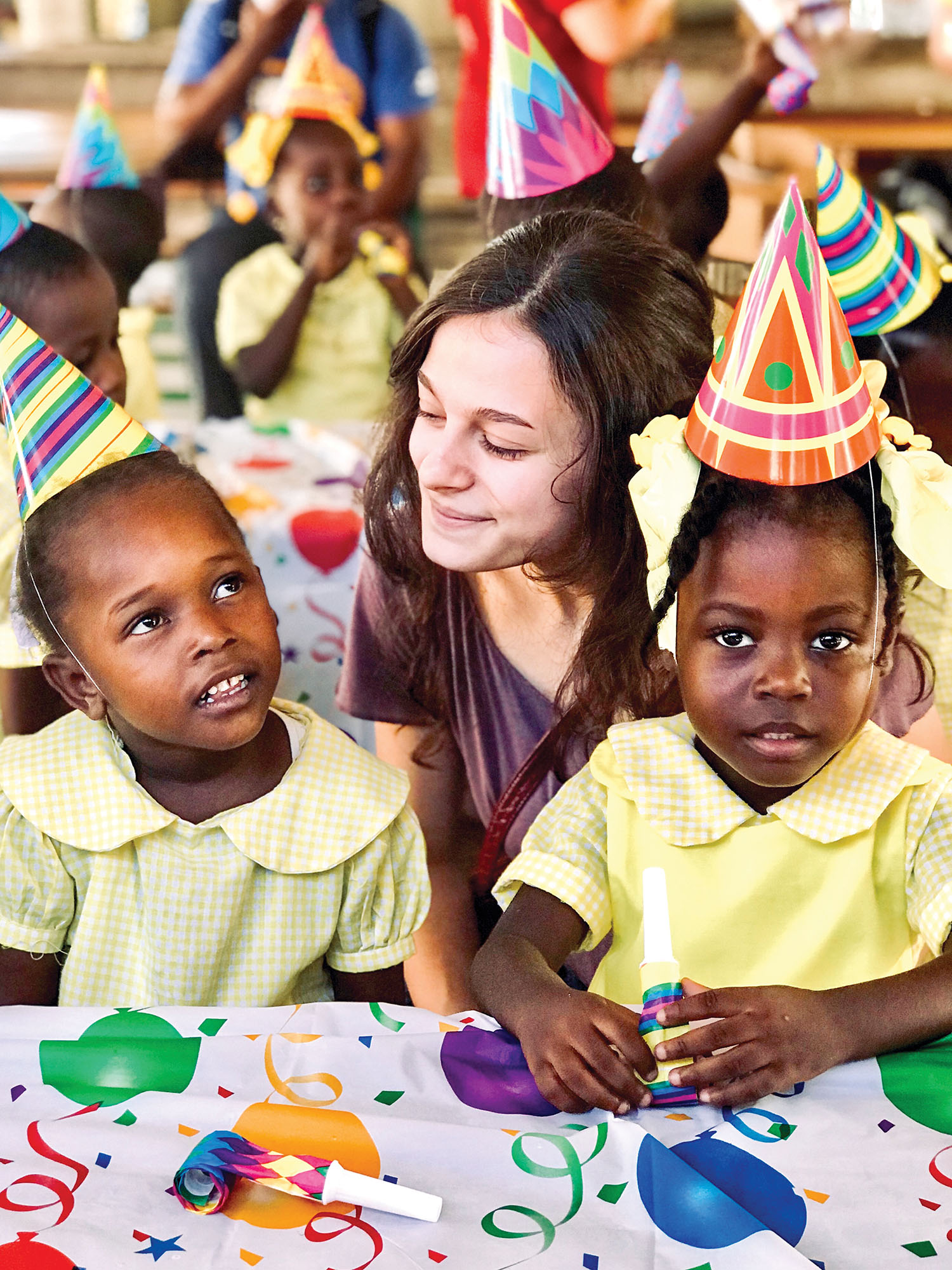 Do you see the potential in each child? God does and uses us to help empower children to rise up to become new leaders.