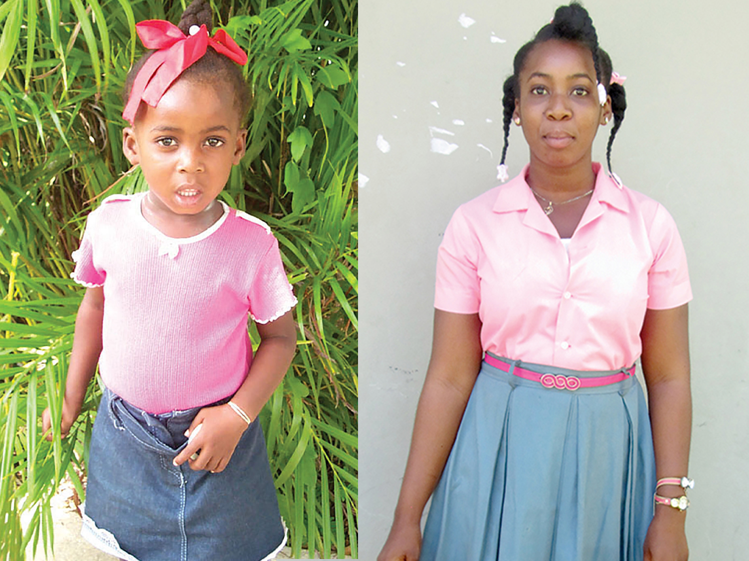 Gloria began school at New Missions at the age of four; as a new, young, Christian leader, she is planning to study nursing in Haiti.