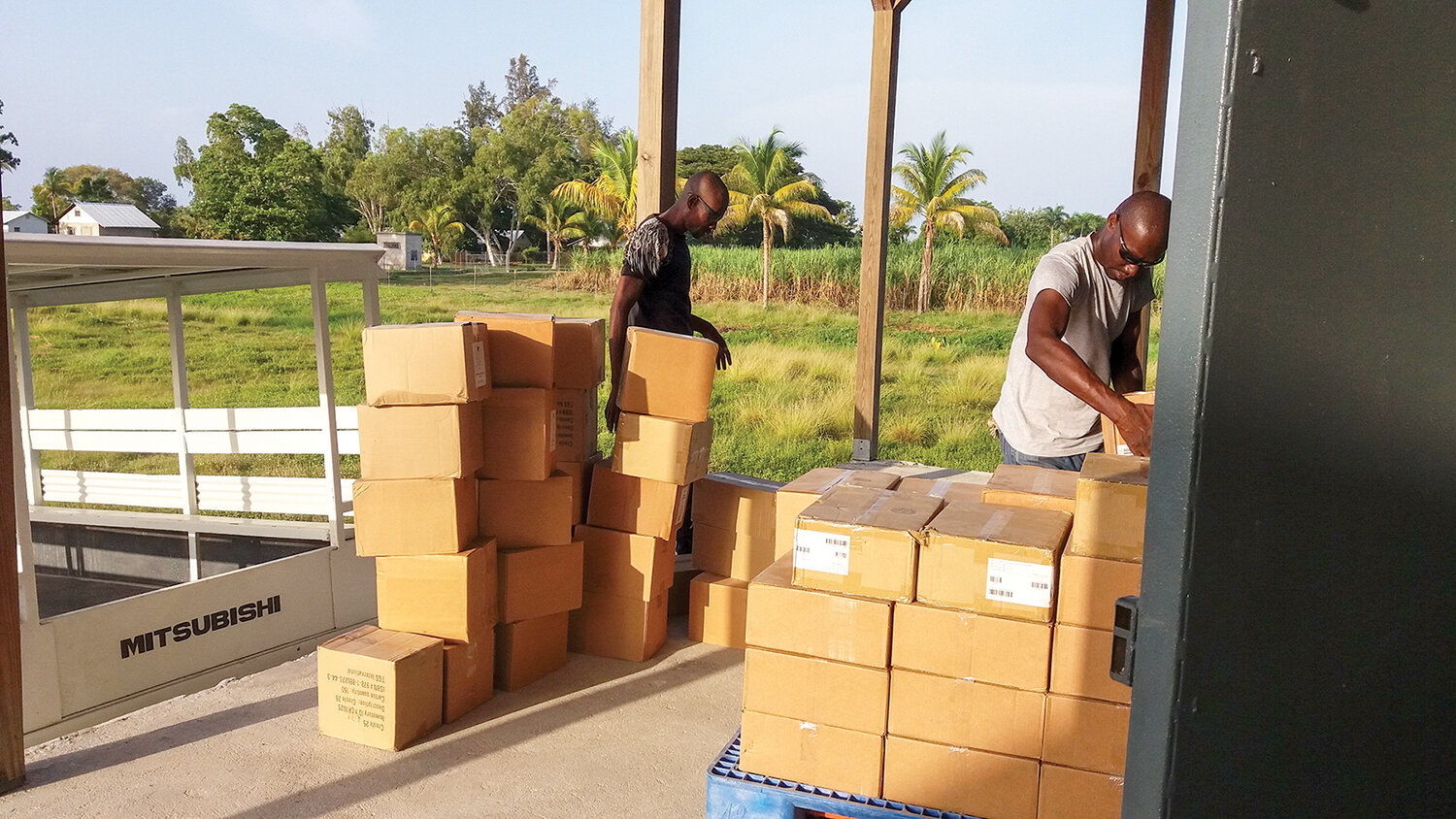 Our warehouse in Haiti is ready to receive the delivery of library books. We will plan to purchase them as funding is provided and ship them to Haiti on cargo containers.