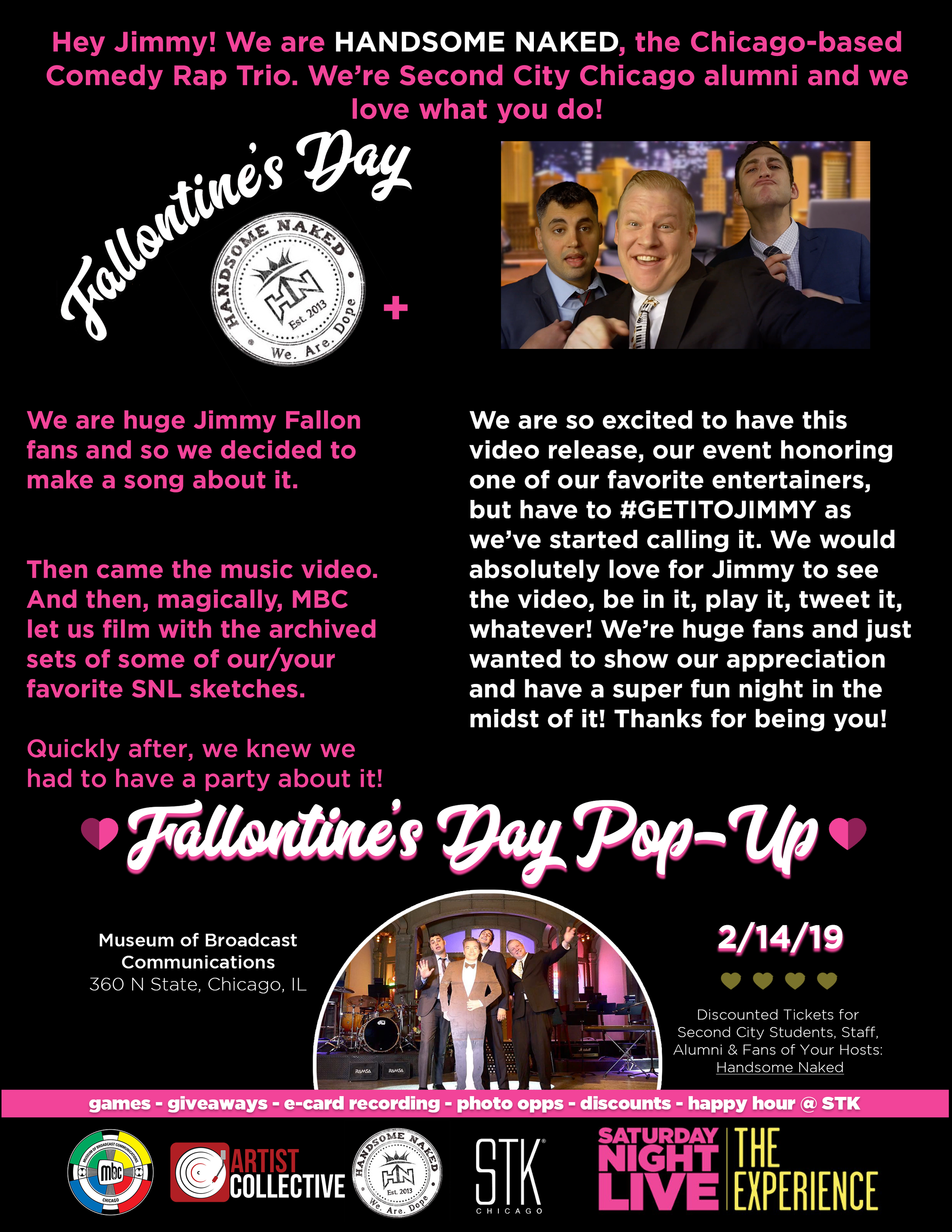 Fallontine's Day One Sheet
