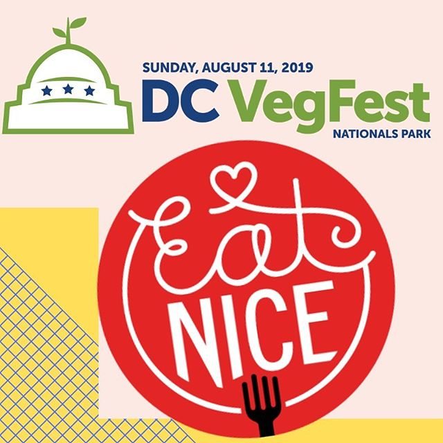 We're so excited to be heading to The @dcvegfest for the first time tomorrow! Come say hi and try some of our meaty walnut and creamy nada ricotta ravioli!! ❤️🌱🍝