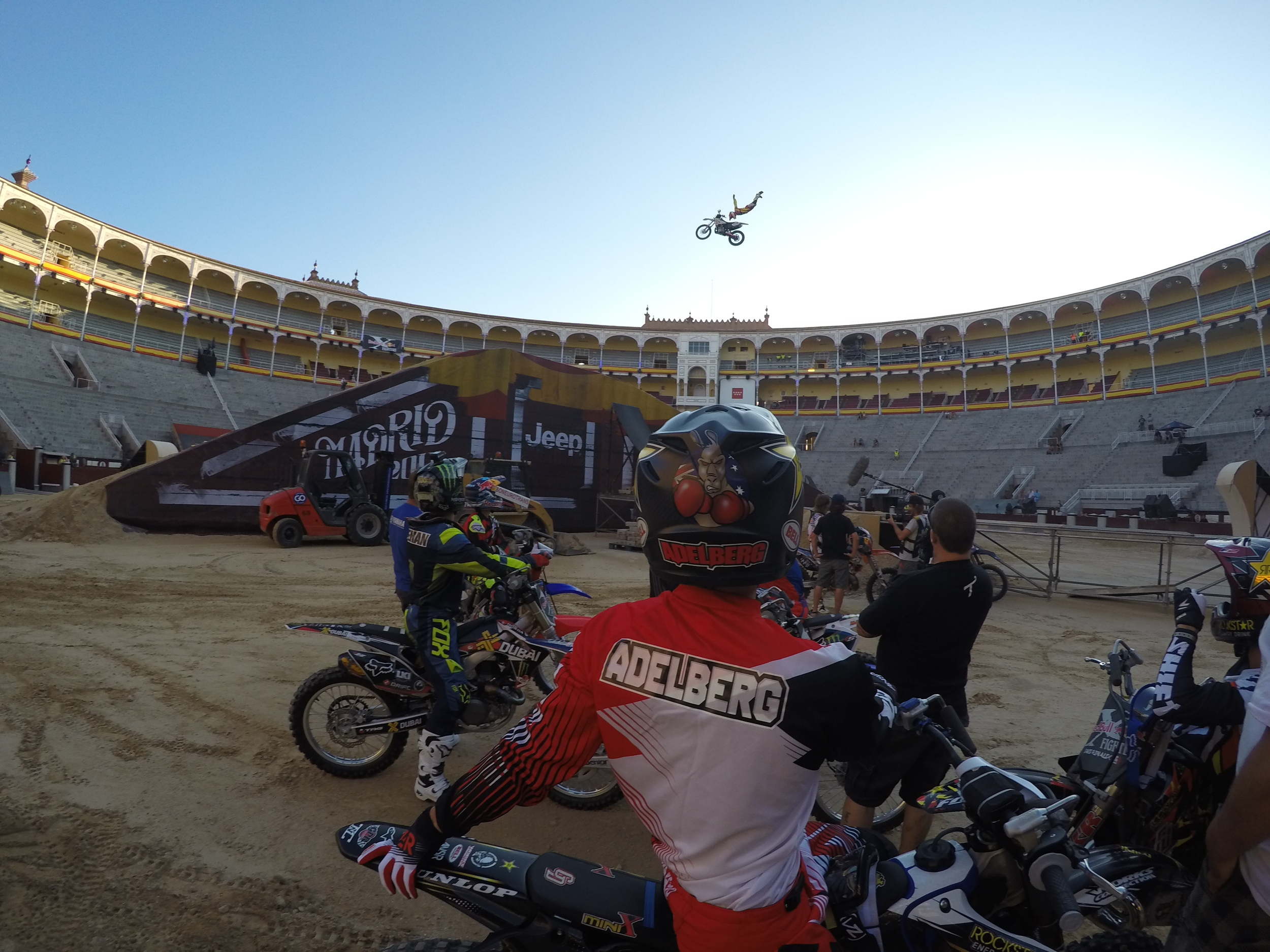Course testing at RedBull X Fighters