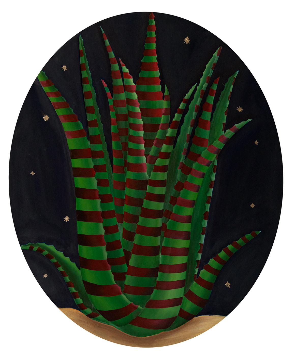 Aloe Vera, Oil on canvas, <br/> 50 x 60 cm, 2011