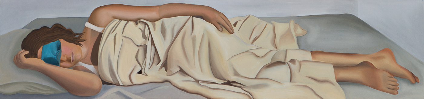 oil on canvas 190x40 cm, 2010