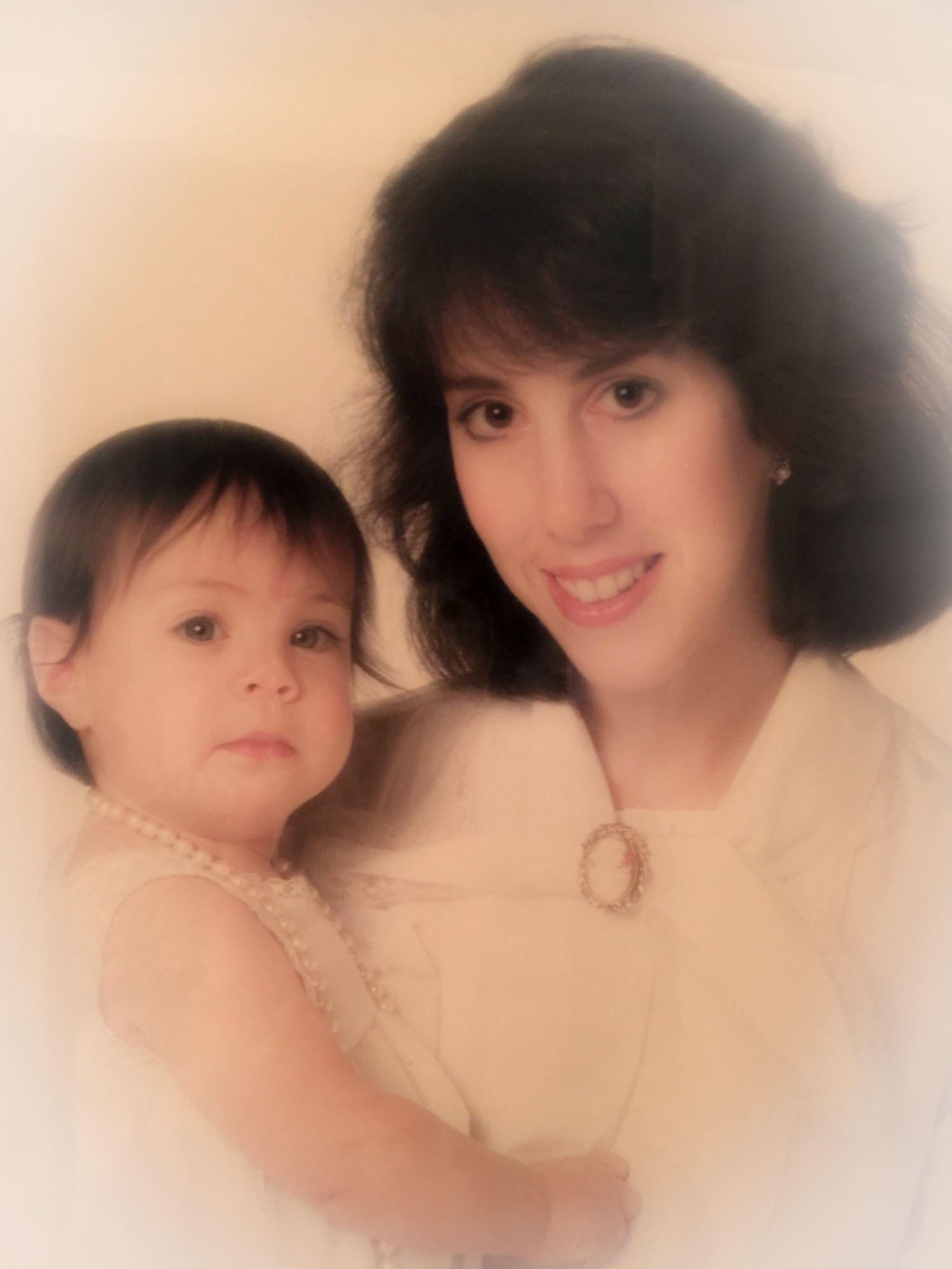 Author Rachel Brodsky and her mother