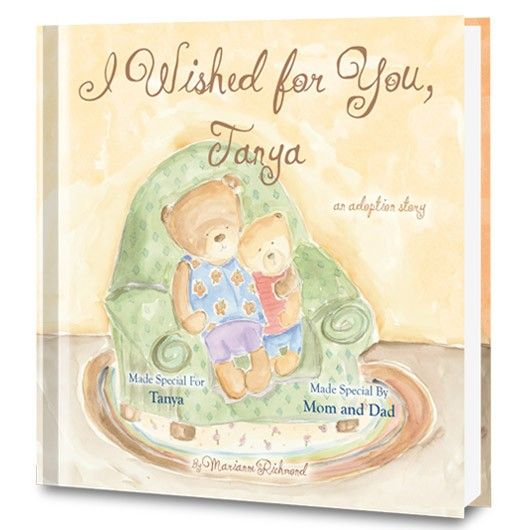 personalized adoption story book from put me in the story