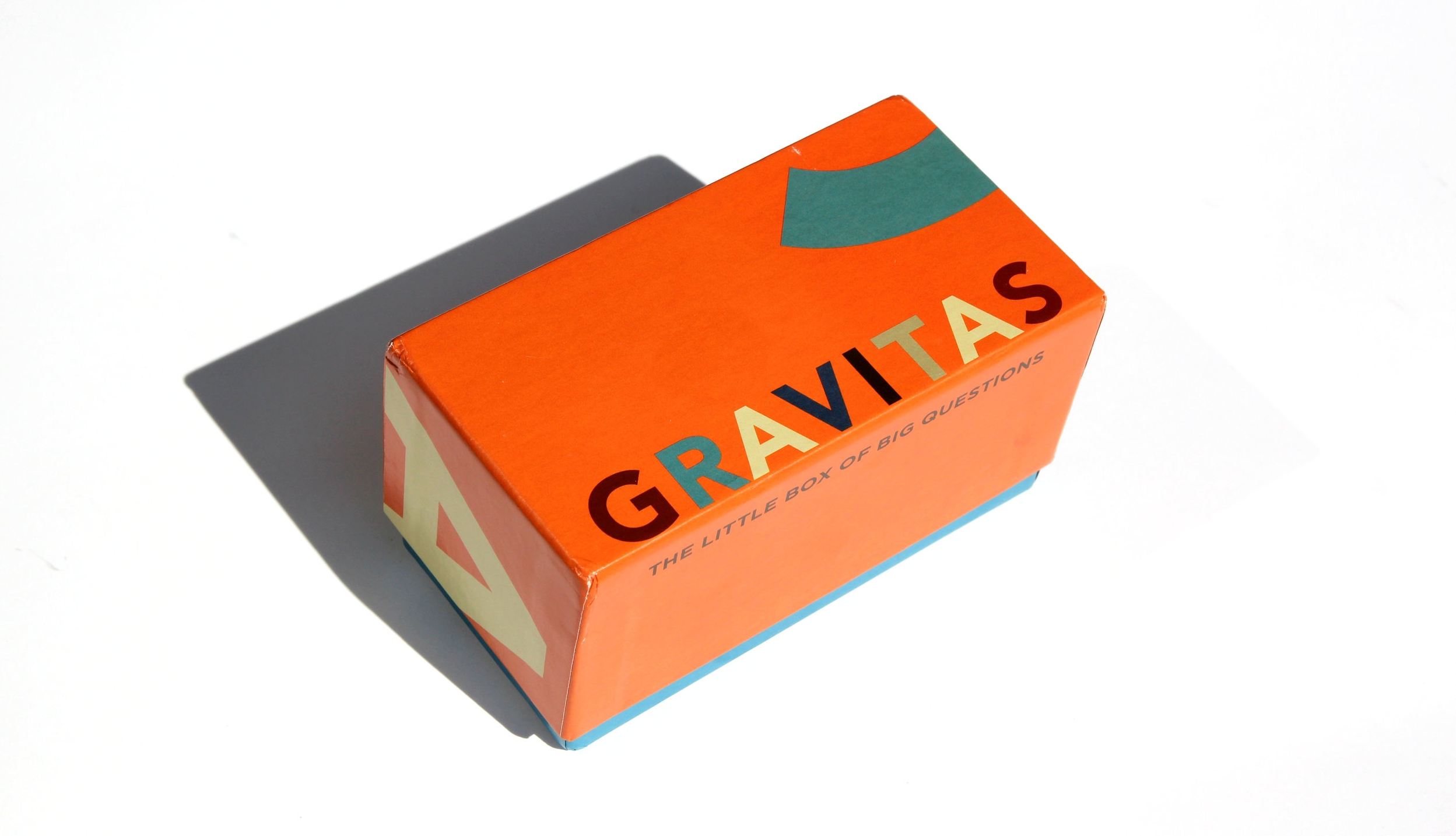 The Gravitas box of questions is a surprising resource for questions that are helpful to memoir and life story writing, perfect for those interested in preserving their family stories and personal history
