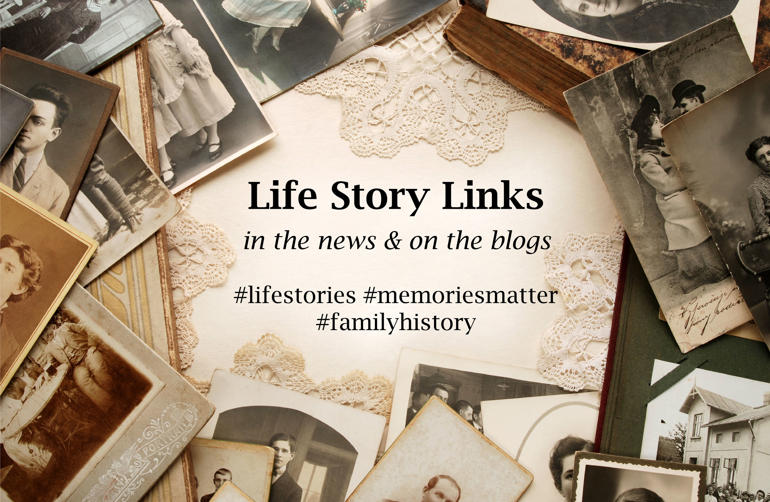 curated links to blogs and articles of interest to personal historians and family biographers