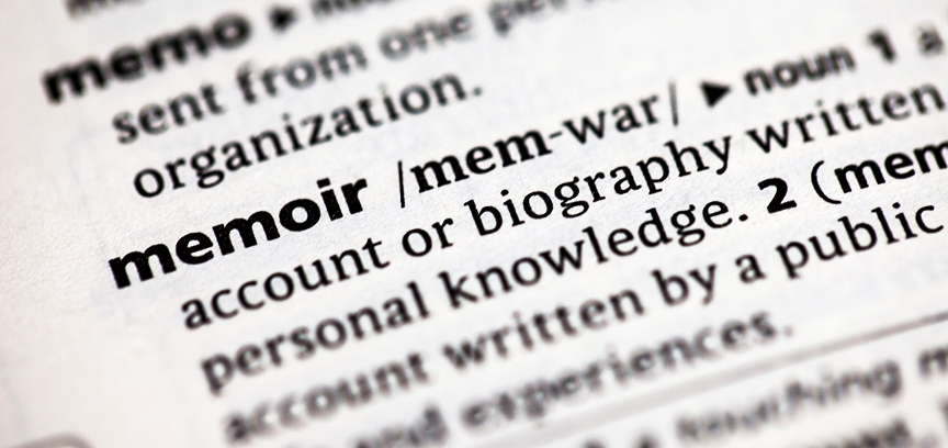 one definition of memoir is autobiography