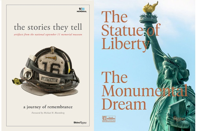 Two books from Rizzoli any history lover will be proud to display on their coffee table: The Statue of Liberty: The Monumental Dream; and The Stories They Tell: Artifacts from the National September 11 Memorial Museum.