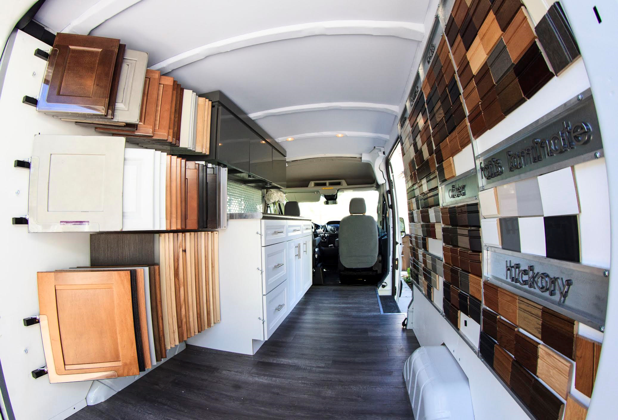 Mobile Showroom Kitchenworks