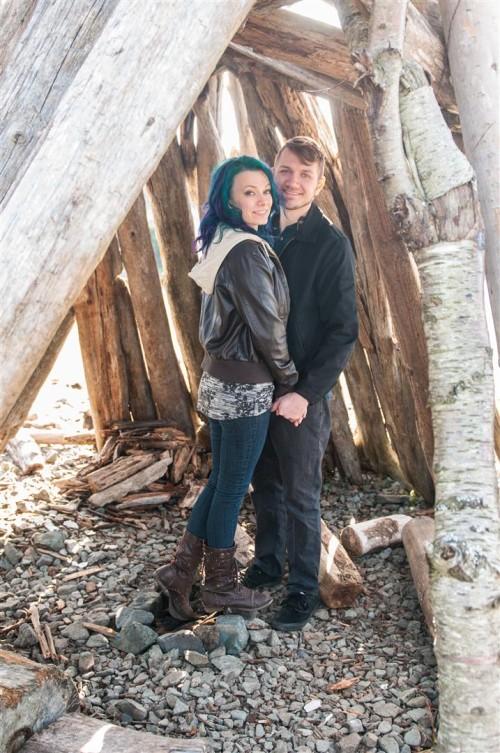 vancouver island engagement photos