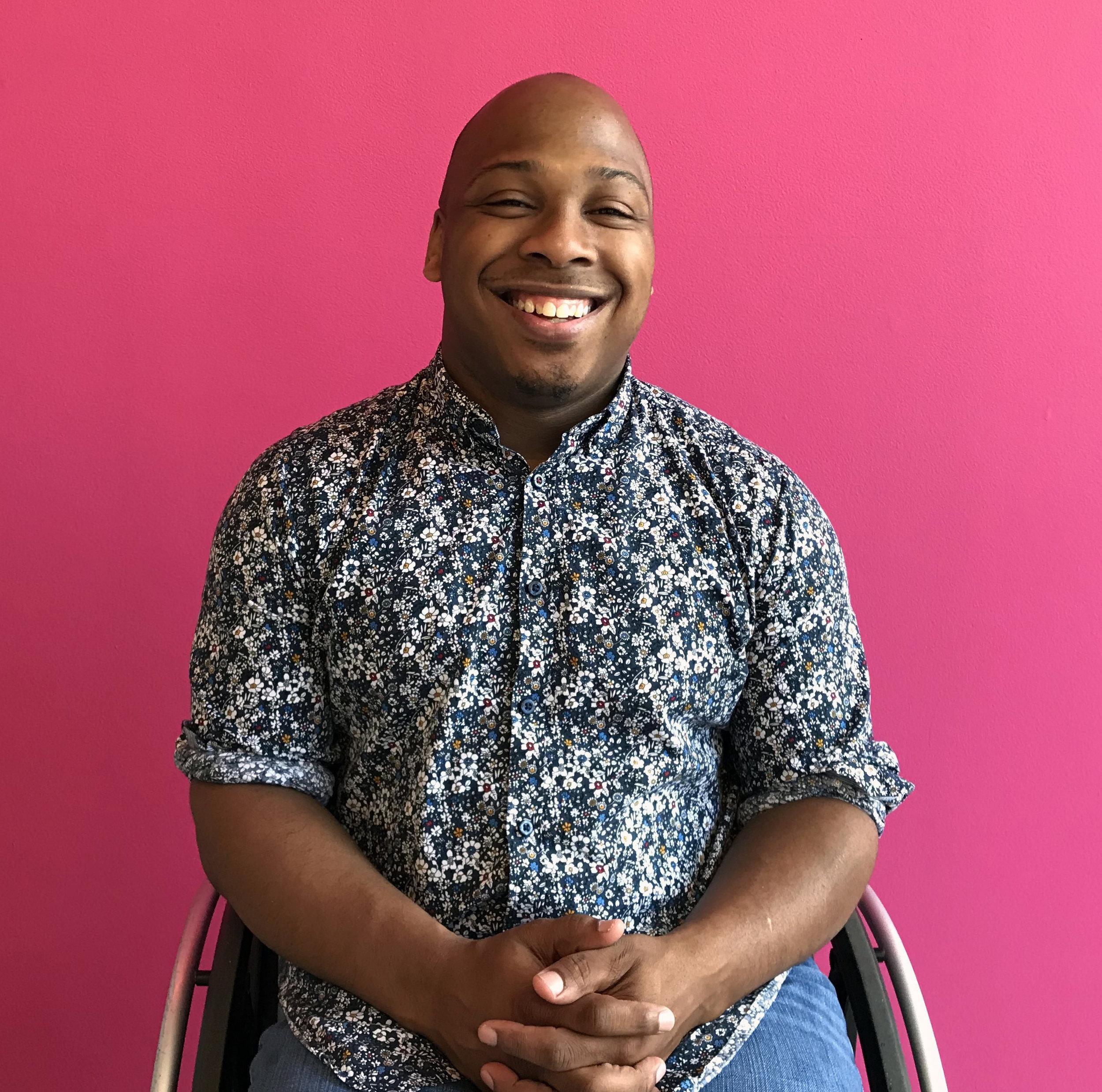 Patrick Williams, SPARKcon Access Coordinator