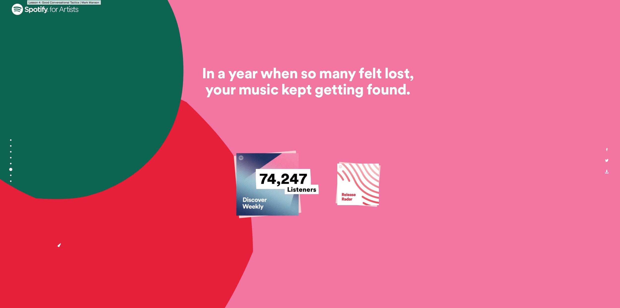 Nemesea Spotify 2017 wrapped