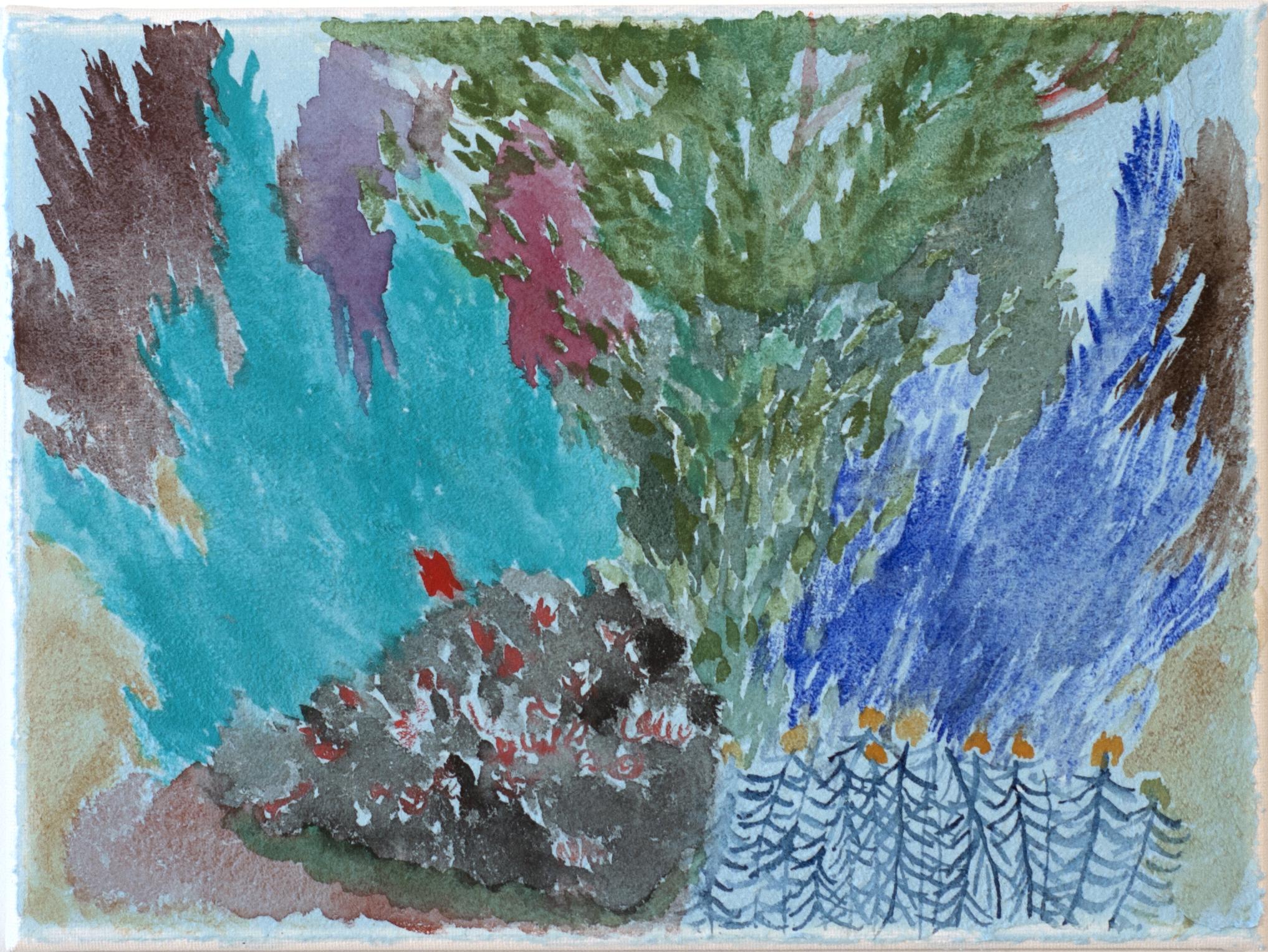 Blue Bush I