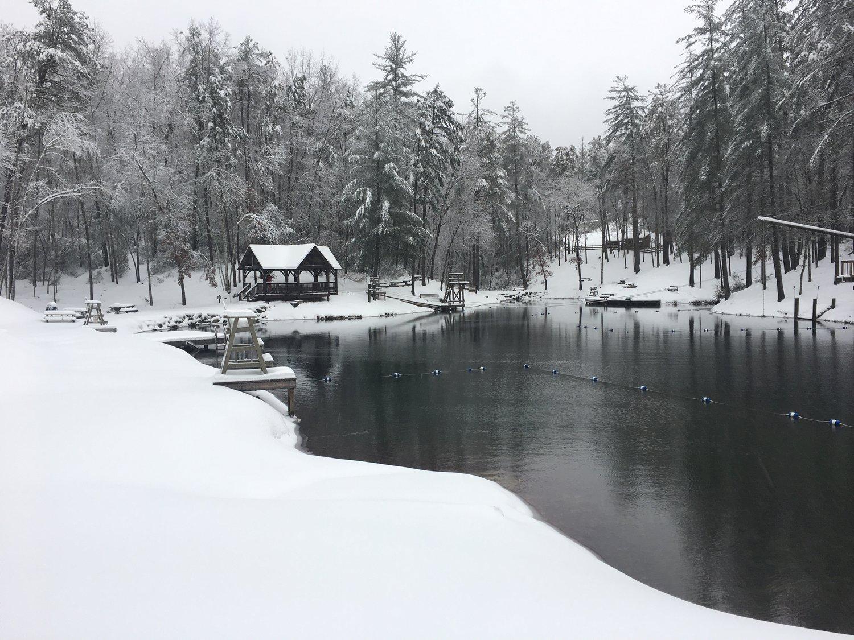 Winter Retreat — Ridge Haven