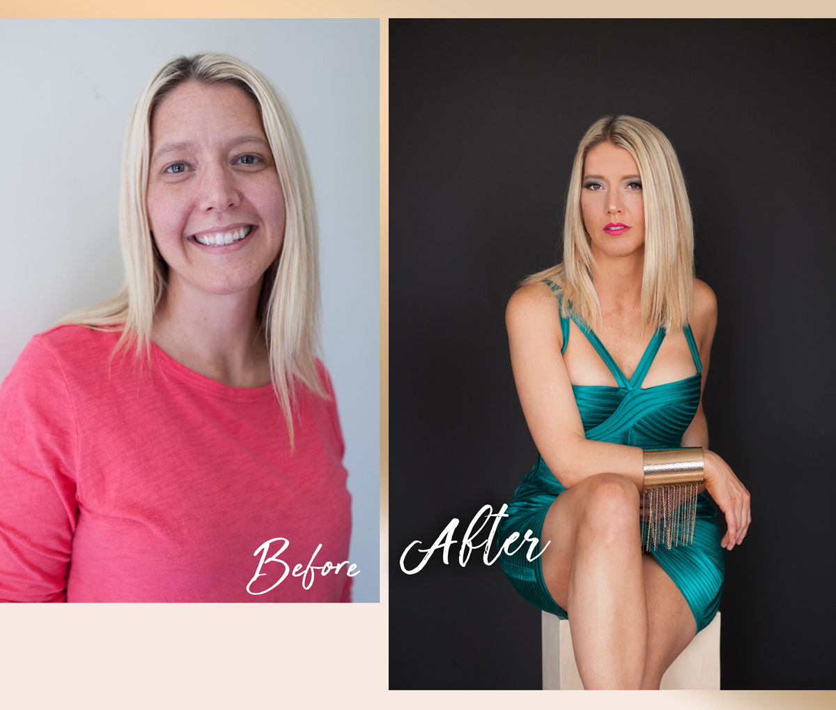 Beautiful Women-Before and After-Erie-Photography