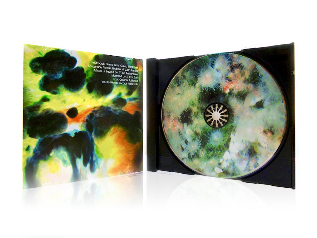 CD Jewel Case (Interior & Disc)